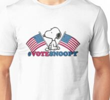 Vote Snoopy Unisex T-Shirt