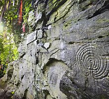 Cornwall : Rocky Valley Labyrinths by Angie Latham
