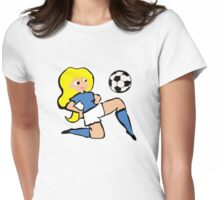 Lady Baller Womens Fitted T-Shirt