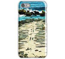 Blue Ocean Jetties iPhone Case/Skin