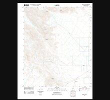USGS TOPO Map Arizona AZ Harcuvar 20111025 TM Unisex T-Shirt