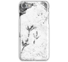 I'm on your track iPhone Case/Skin