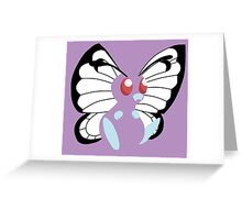 Butterfree Greeting Card