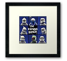 The Kamino Bunch Framed Print
