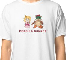 Peach 4 Bowser Classic T-Shirt