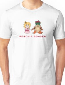 Peach 4 Bowser Unisex T-Shirt