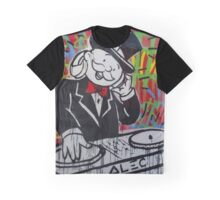 DJ Rich Uncle Pennybags Graphic T-Shirt