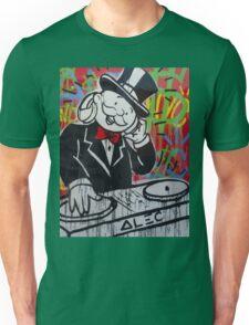 DJ Rich Uncle Pennybags Unisex T-Shirt