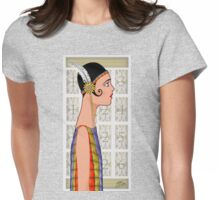 Candy Curl Womens Fitted T-Shirt