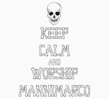 Keep Calm and Worship Mannimarco (for light coloured materials) by jazzmcgaughey