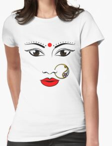 Classic Desi Bae Womens Fitted T-Shirt