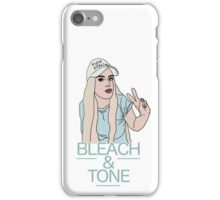 Bleach & Tone (version two) iPhone Case/Skin