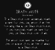 Death Note Rule 11 by dftba-