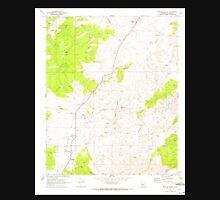 USGS TOPO Map Arizona AZ Peeples Valley 312823 1969 24000 Unisex T-Shirt