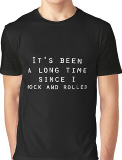 classic rock and roll zeppelin lyrics  Graphic T-Shirt