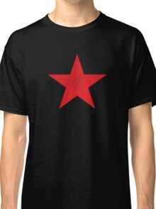 Distressed Red Star Classic T-Shirt