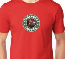 STARBUCKS IRON MAN 3D Unisex T-Shirt