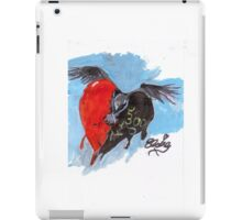face the raven iPad Case/Skin