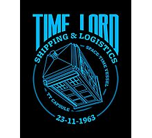 Time Lord Shipping & Logistics Photographic Print