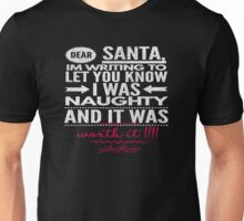 I Was naughty Santa Unisex T-Shirt