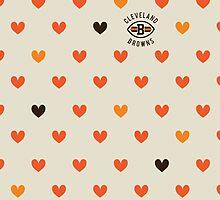 CLE Browns Love by JazMassa
