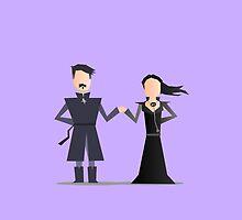 #4 Sansa and Littlefinger by LoriLoriLori