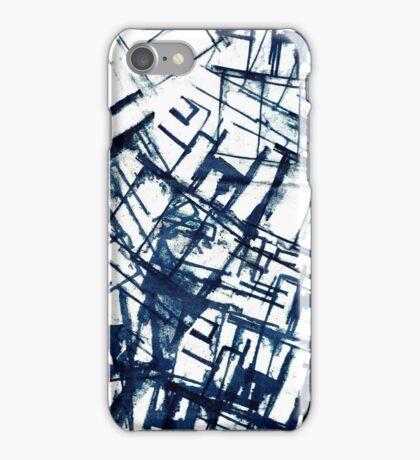 Architectual Screen Print  iPhone Case/Skin
