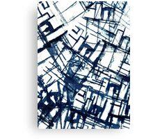 Architectual Screen Print  Canvas Print