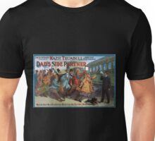 Performing Arts Posters Joe W Spears presents Mazie Trumbull and her fun crowd in a brand new comedy Dads side partner 0038 Unisex T-Shirt