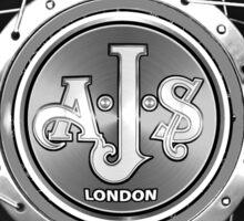 AJS vintage Motorcycles England  Sticker
