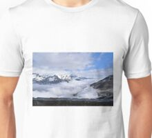 Looking down on the clouds Unisex T-Shirt