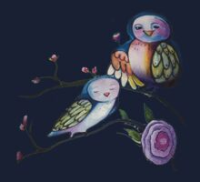 Mother and baby owl  Kids Clothes