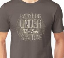 Everything under the Sun is In Tune Pink Floyd Lyrics Unisex T-Shirt