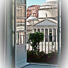View on Piazza del Plebiscito / Naples / Italy (1) by Rachel Veser