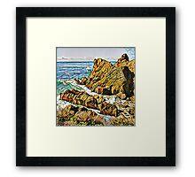 Ocean Side K1 Framed Print