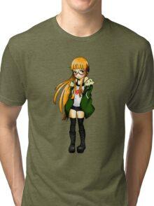 Futaba Sakura - Persona 5 Tri-blend T-Shirt