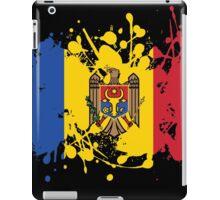 Moldova Flag Ink Splatter iPad Case/Skin