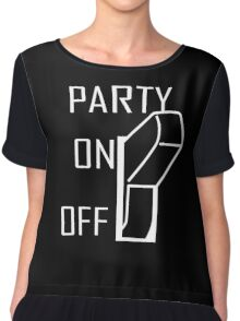 Party On Switch Chiffon Top