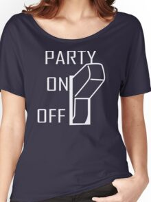 Party On Switch Women's Relaxed Fit T-Shirt