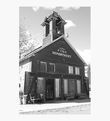 The Old Ridgway Firehouse Photographic Print