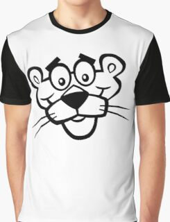 Panther Face Graphic T-Shirt