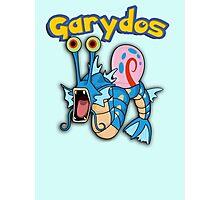Gary the snail and Gyarados  mashup = Garydos Photographic Print