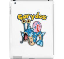 Gary the snail and Gyarados  mashup = Garydos iPad Case/Skin