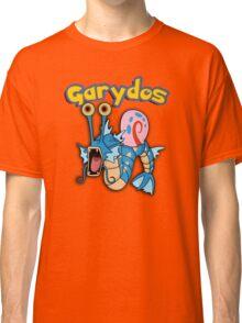 Gary the snail and Gyarados  mashup = Garydos Classic T-Shirt