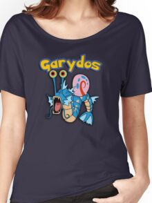 Gary the snail and Gyarados  mashup = Garydos Women's Relaxed Fit T-Shirt