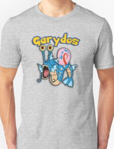 Gary the snail and Gyarados  mashup = Garydos Unisex T-Shirt