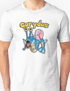 Gary the snail and Gyarados  mashup = Garydos T-Shirt