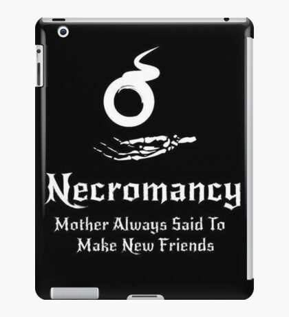 Dungeons and Dragons Necromancy  iPad Case/Skin