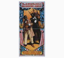 Performing Arts Posters Wm H Wests Big Minstrel Jubilee formerly of Primrose West 1955 Kids Tee