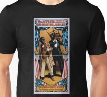 Performing Arts Posters Wm H Wests Big Minstrel Jubilee formerly of Primrose West 1955 Unisex T-Shirt